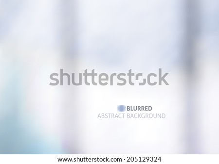 vector blurred abstract
