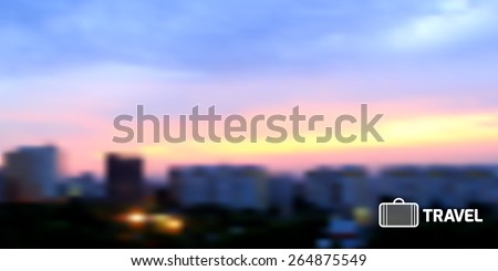 vector blurred background with