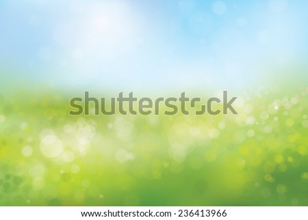 vector blurred nature