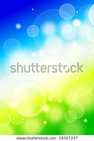 vector blurry background