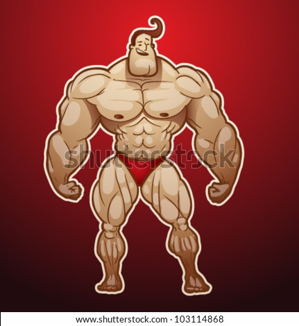 vector bodybuilder 3