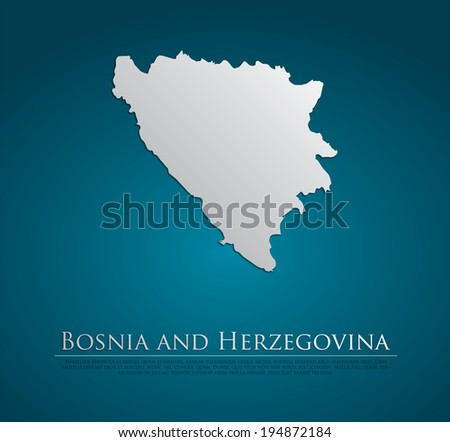 vector bosnia and herzegovina