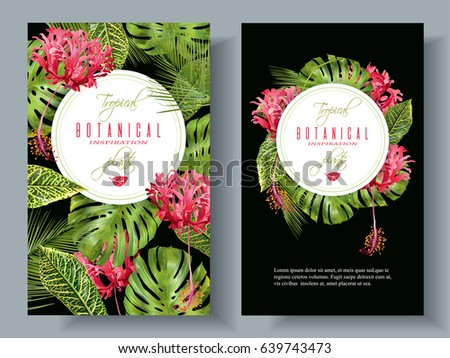 vector botanical vertical