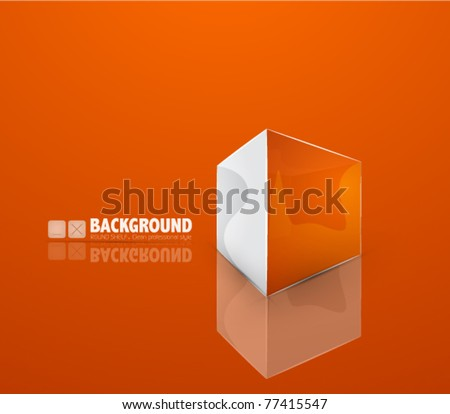 vector box background
