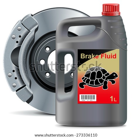 vector brake fluid with disk