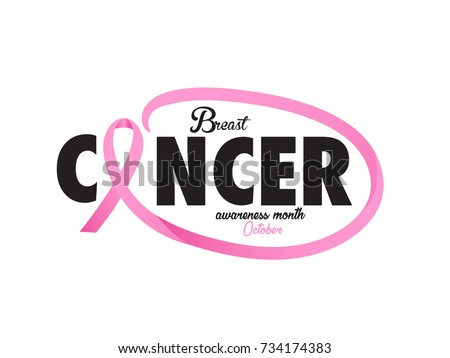 Vector Breast Cancer Awarenes