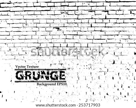 Vector Brick Wall Texture