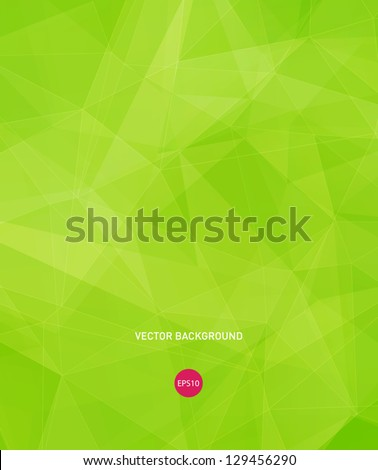 stock-vector-vector-bright-green-modern-geometric-background
