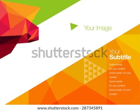 vector brochure   booklet