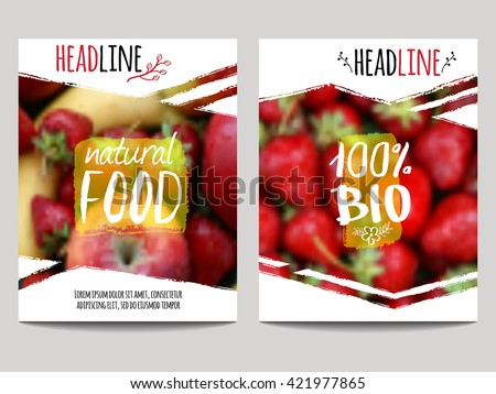 vector brochure design template