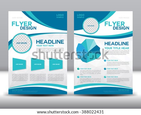 Royaltyfree Vector Brochure Flyer Design Layout Stock - Brochure flyer templates