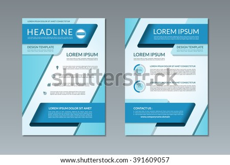 Free Brochure Template Vector  Download Free Vector Art Stock