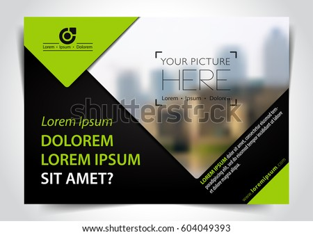 Vector Brochure Flyer Template Vector - Download Free Vector Art ...