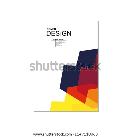 Vector brochure,flyer template,magazine cover,modern design #1149110063