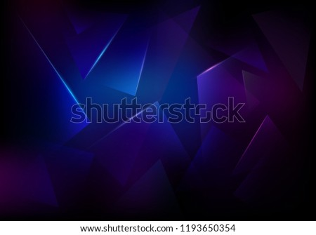 vector broken glass dark purple