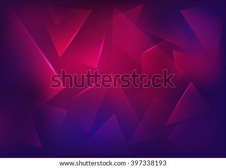 vector broken glass purple