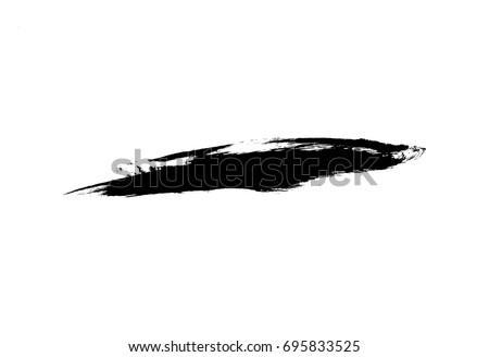 vector brush stroke #695833525