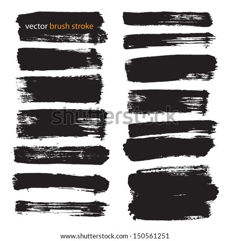 vector brush stroke vol 3