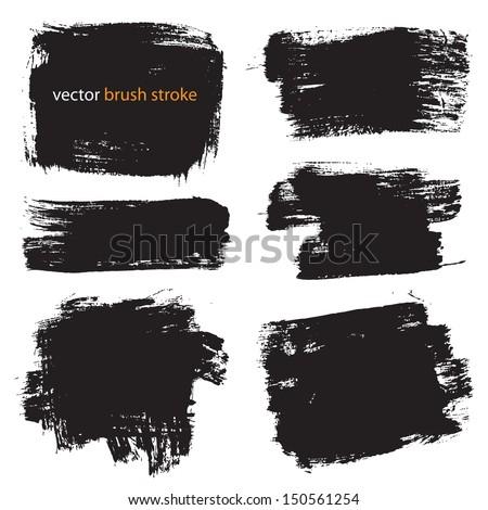 vector brush stroke VOL 1