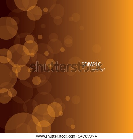 vector bubbles background