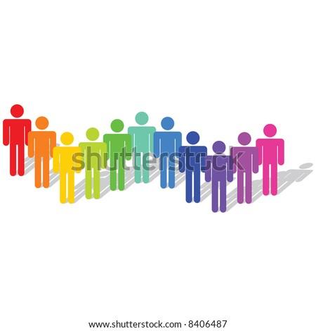 Vector - Business Concept - Diversity