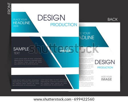 Vector business flyer magazine cover poster template ez canvas vector business flyer magazine cover poster template wajeb Images