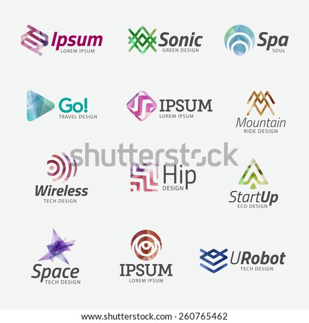 vector business logo templates