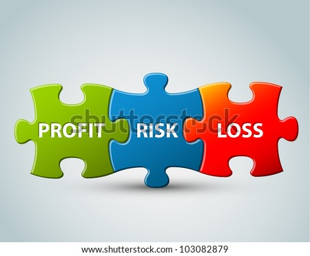 Vector business model - profit, risk and loss