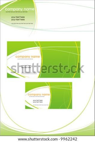 Корпоративный стиль 2 5 EPS + JPEG PREVIEW 3 MB.