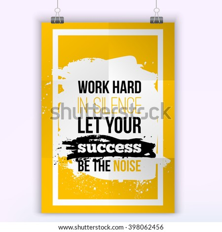 vector business success quote