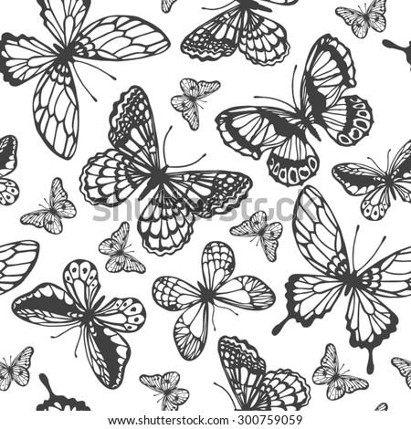 stock-vector-vector-butterflies-pattern-abstract-seamless-background