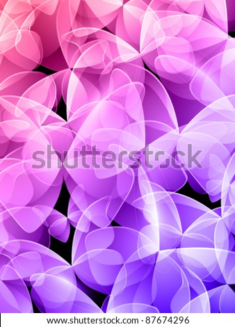 vector butterfly background