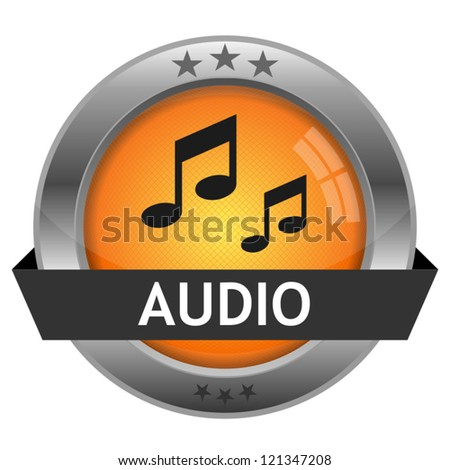 Vector Button Audio