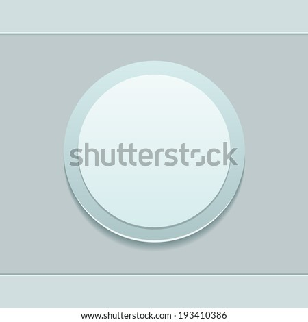 Vector button for your design
