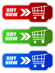 Vector buy now buttons, eps10