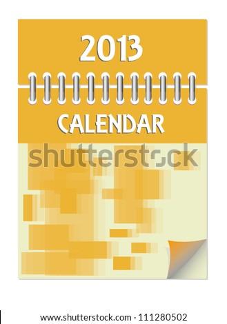 Vector calendar 2013 Cover