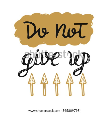 vector calligraphy do not give