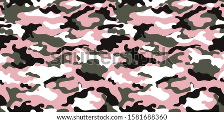 vector camouflage pattern for army. camouflage military pattern Stock photo ©