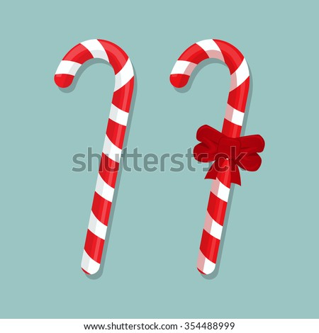 Vector Candy Cane