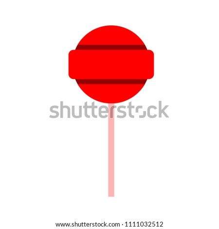 vector candy, food candy illustration isolated - sweet snack, eat dessert