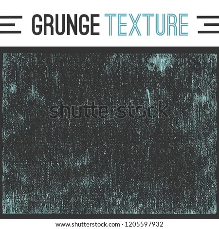 Vector canvas grime texture. Grunge design element.