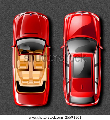 vector car - stock vector