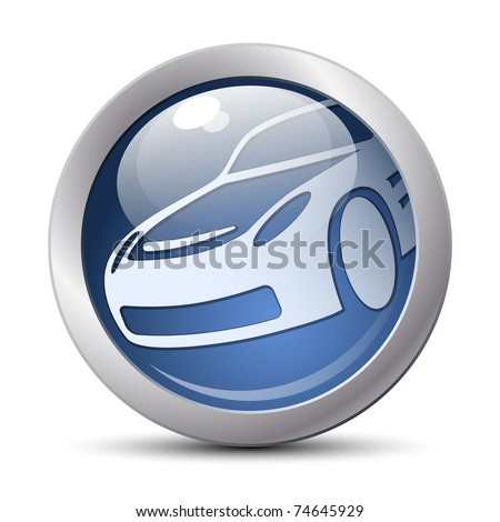 Vector car icon