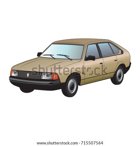 vector car illustration