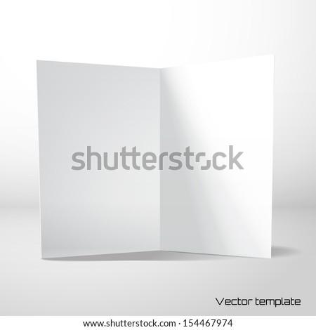 Vector card template.