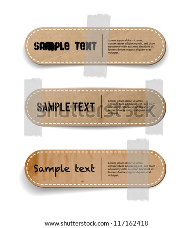 how to get a sticky label off cardboard