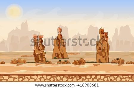 vector cartoon  background