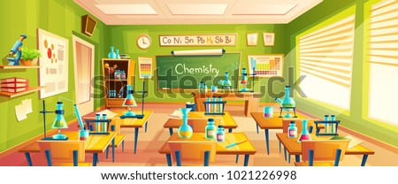 vector cartoon background with
