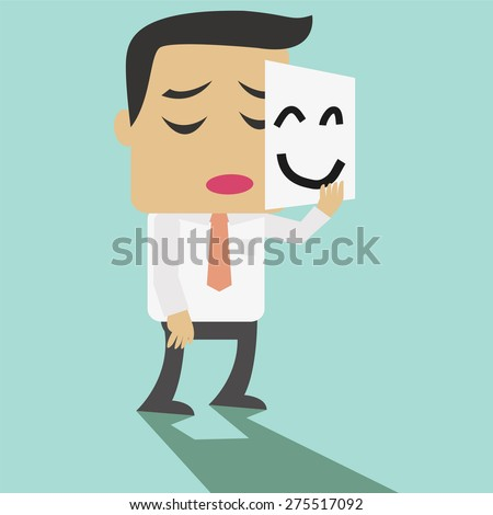 vector cartoon businessman