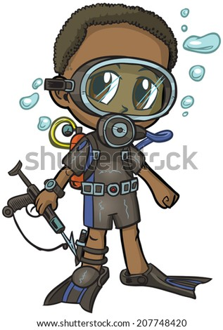 vector cartoon clip art of an